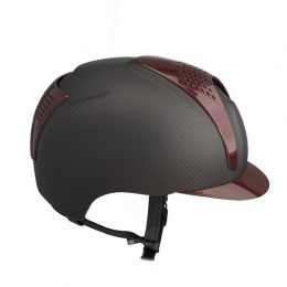 KEP ITALIA CARBON E-LIGHT MATT / 2 INSERTI BORDEAUX Cap