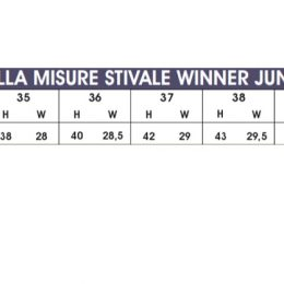 STIVALI PER EQUITAZIONE JUNIOR 35-39 Stivali