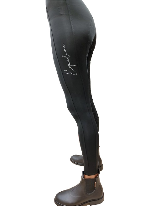 LEGGINGS EQUILINE FULL GRIP GUENG Pantaloni Donna