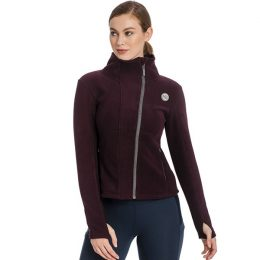 PILE SUPER SOFT ZIP UP Donna, Manica Lunga