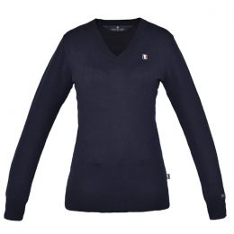 PULLOVER SOTTOGIACCA KINGSLAND Navy Donna, Manica Lunga