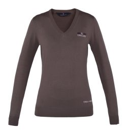 PULLOVER SOTTOGIACCA KINGSLAND Brown Donna, Manica Lunga
